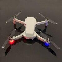 Mini luz do vôo da noite lâmpada de sinal luz navegação para dji mavic mini drone acessórios led flash luzes kit