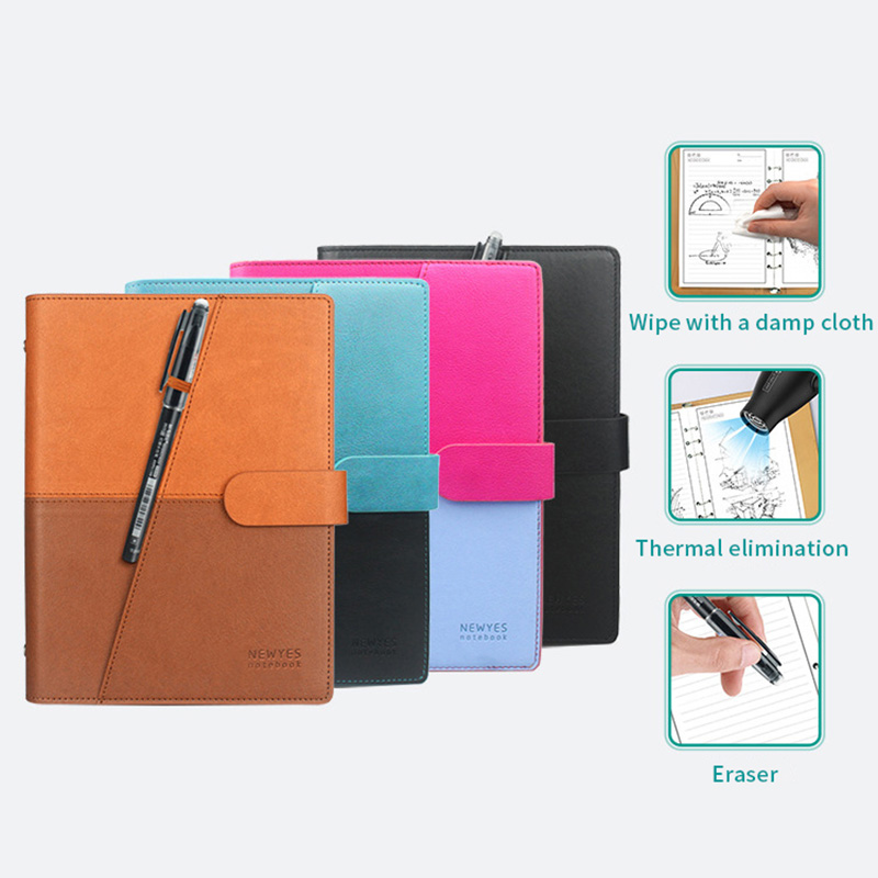 Smart Reusable Erasable Spiral A5 Notebook Paper Notepad Pocketbook Diary Journal Office School Drawing Gift