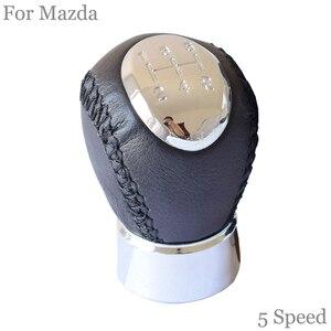Image 5 - غطاء جلدي لمقبض كرة اليد ، غطاء جلدي لمازدا 6 ، 2002 ، 2003 ، 2004 ، 2005 ، 2006 ، 2007 ، 5 سرعات