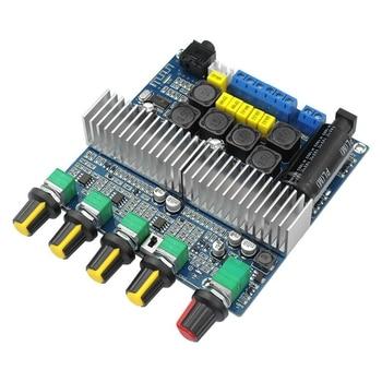 TPA3116D2 DC12V-24V Bluetooth 4,2 сабвуфер аудио усилитель плата 2,1 канал мощность 2x50 Вт + 100 Вт TPA3116 Amplificador