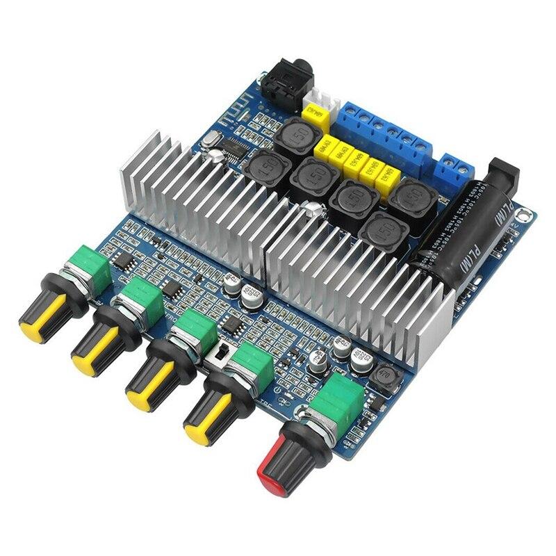 TPA3116D2 DC12V 24V Bluetooth 4.2 Subwoofer Audio Versterker Board 2.1 Channel Power 2X50 W + 100W TPA3116 Amplificador-in Schelp & Lichaams onderdelen van Consumentenelektronica op title=