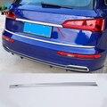 Для Audi Q5 L Q5L 2018 2019 1 шт. ABS хромирование  задняя часть автомобиля Крышка багажника Крышка отделка задние ворота накладка покрышка аксессуары д...
