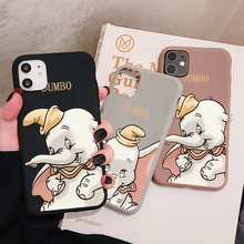 Cartoon Dumbo Elephant Phone Case for iPhone 11 Pro XR X Xs Max 8 7 6 Plus 6S 5S