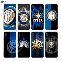 Inter club Case For Xiaomi Redmi Note 9 8 7 6 5 Pro 9S 9C 8T 9A 8A 7A 6A K30 K20 Silicone Cover Coque