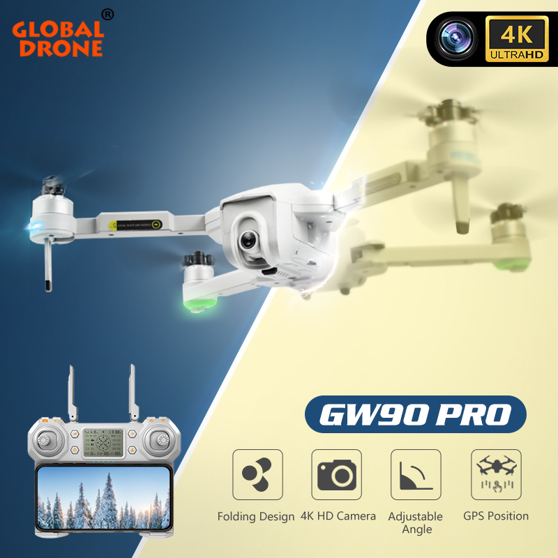 4K GPS Drone with Wifi FPV HD Camera Brushless Quadcopter For Long Flying Time 5