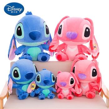 Disney stitch 35-80cm large cartoon anime plush toy lilo and & peluche doll children birthday gift
