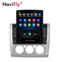 Navifly 9,7 pulgadas estilo Tesla para ford focus 2 Mk2 2004-2011 Android Car radio reproductor multimedia navegación gps wifi No 2 din DVD(China)