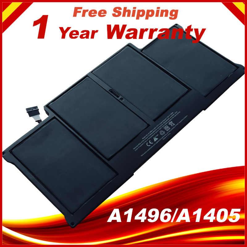 """Laptop Batterij A1405 Voor Macbook Air 13 """"A1466 Mid 2012 Jaar & A1369 Mid 2011 Jaar"""