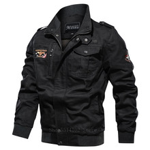 Outerwear Military-Uniform Army Coat Casual-Jacket Spring Men Windbreaker Stand Collar