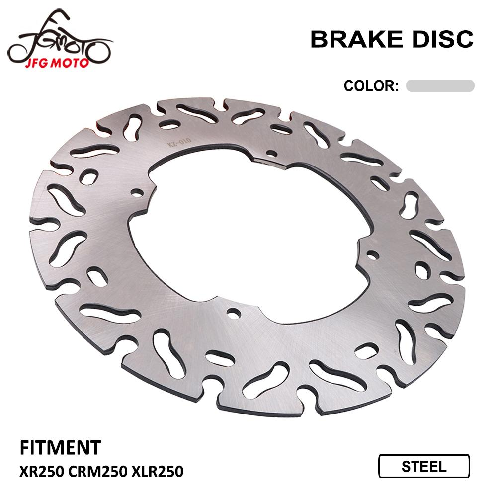 Motorcycle Front Brake Disc Rotor For <font><b>HONDA</b></font> XR250 CRM250 <font><b>XLR250</b></font> XR CRM XLR 250 image