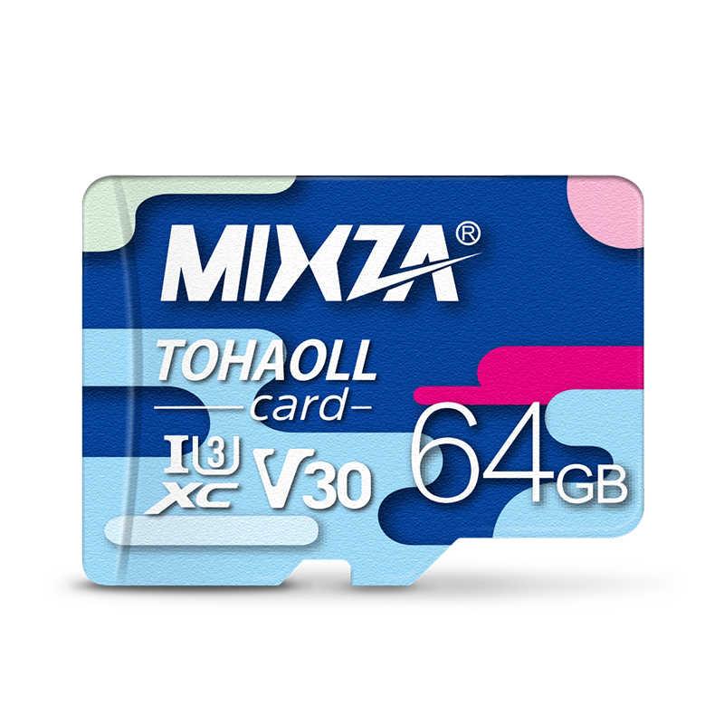 MIXZA Scheda di Memoria 256GB 128GB 64GB U3 80 MB/S 32GB Micro carta di deviazione standard di Class10 UHS-1 flash scheda di Memoria Microsd TF/SD card per Tablet