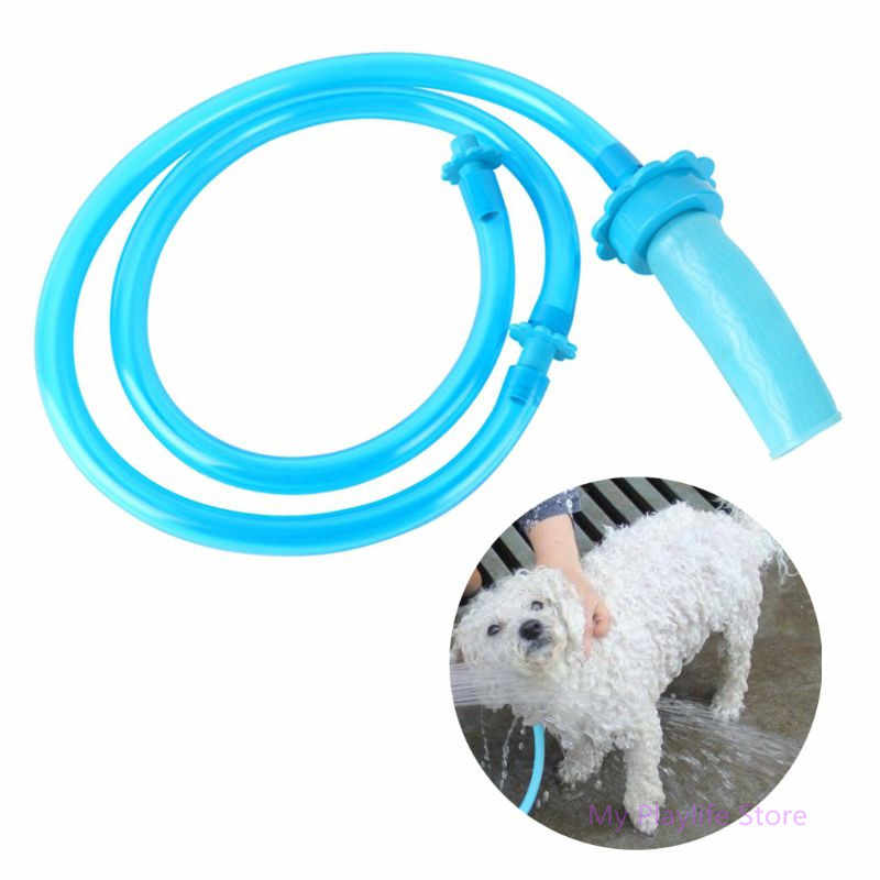 Multifunctional Pet Shower Cleaner Sprinkler Hose Pet Bath Pipe Portable Universal Shower Connector Bathing Head For Dog Cat C42