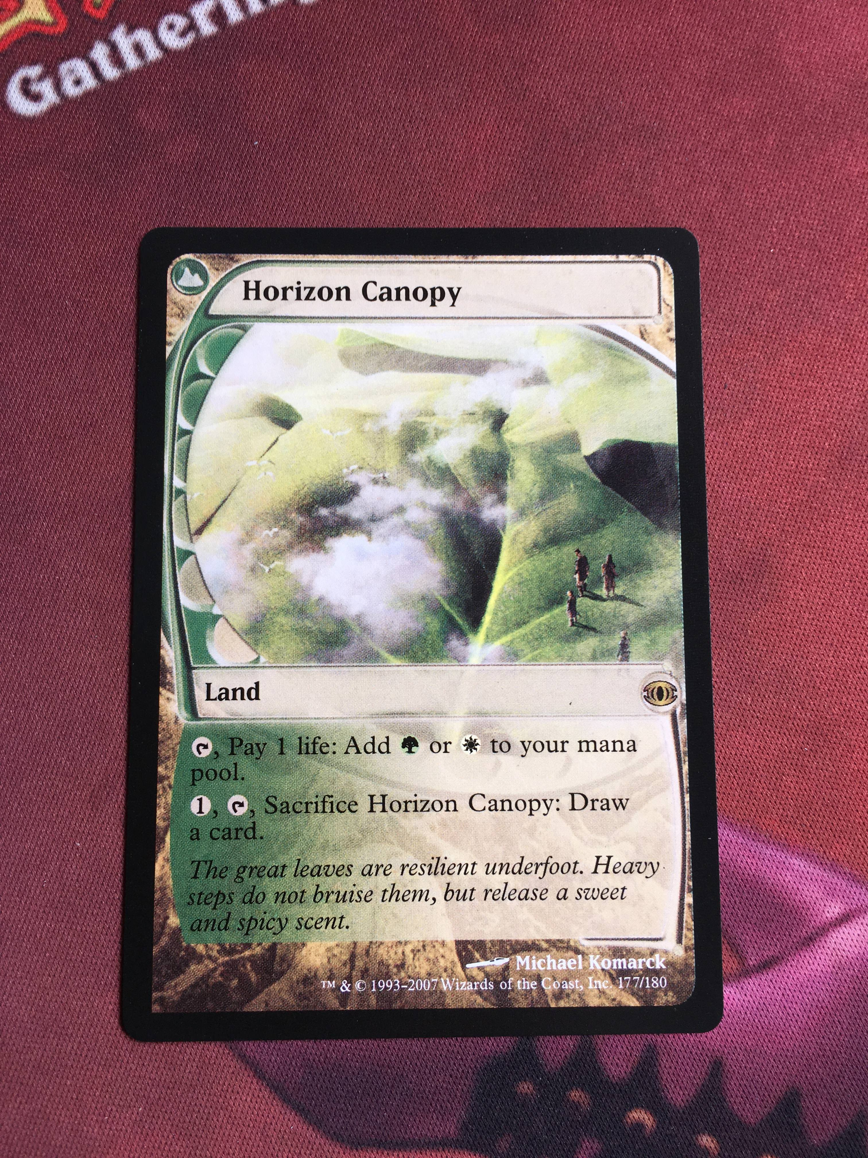 Horizon Canopy Future Sight Magician ProxyKing 8.0 VIP The Proxy Cards To Gathering Every Single Mg Card.