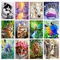 Алмазная 5D мозаика «сделай сам» с изображением пейзажа, животных, наборы для вышивки крестиком, Алмазная мозаика, искусство вышивки, картин...