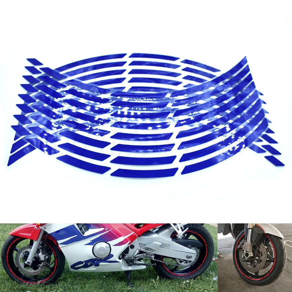 Rapid Outer Rim Liner Stripe for Kawasaki Ninja 300 Reflective Orange