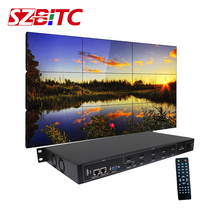 цена на SZBITC TV Video Wall Controller 3x3 3x2 4x2 2x2 1080P@60Hz for HDMI DVI VGA USB Video Splicing with Remote Control