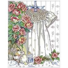 The mini dress patterns counted cross stitch 11ct 14ct 18ct