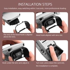 Image 5 - ฝาครอบเลนส์บังแดดสำหรับDJI Mavic Mini/Mini 2เลนส์Anti Glare Gimbal Camera Guardอุปกรณ์เสริม