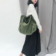 цена на ins medium bag female canvas bag female messenger bag college students Japanese shoulder bag chic canvas bag large capacity