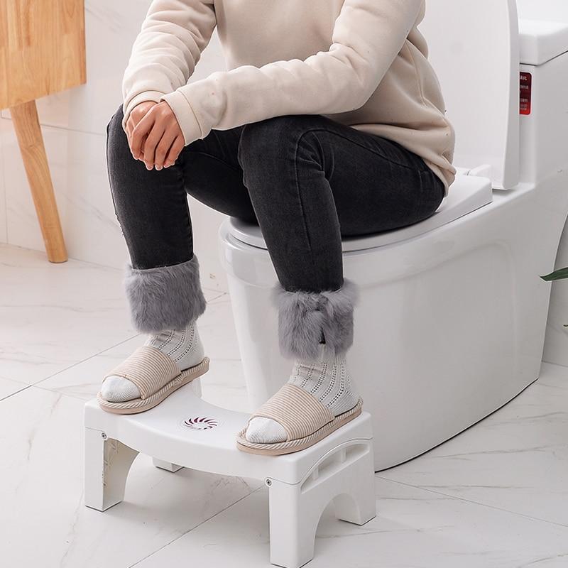 U-Shaped Foldable Squatting Toilet-Stool