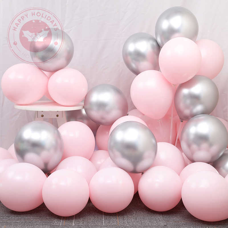 2.8G 12 Inch Warna Tebal Balon 30/50 Pcs Macarone Balon Lateks Inflatable Helium Balon Ulang Tahun Pesta Dekorasi