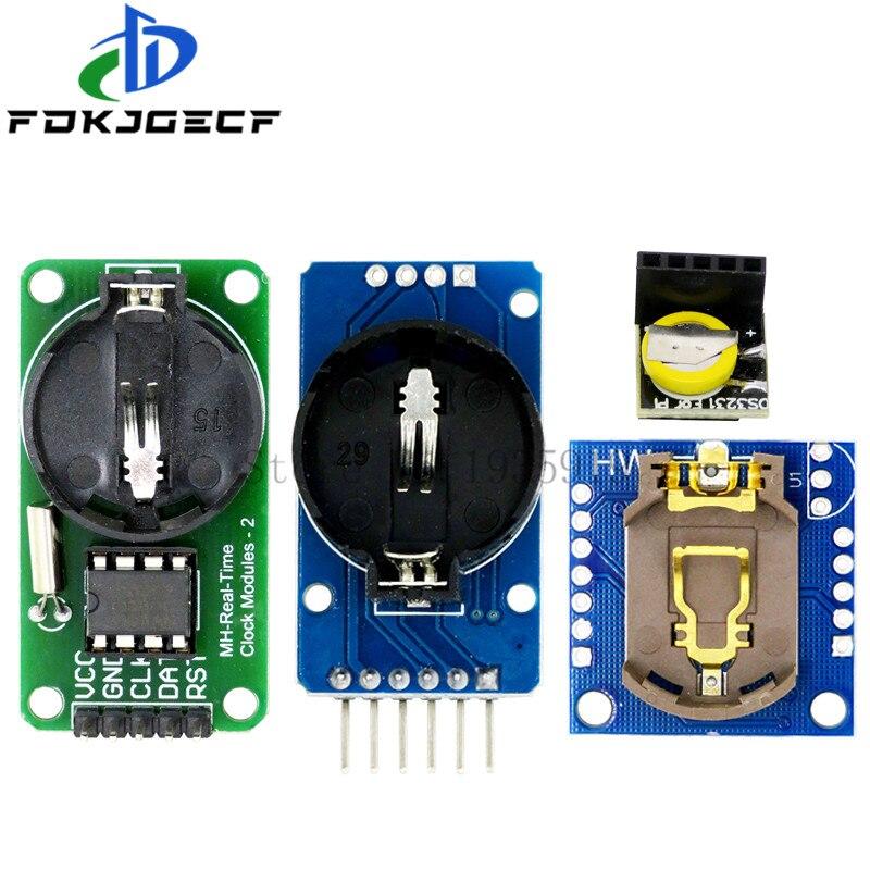 Модуль DS3231 AT24C32 IIC, Модуль DS1302 RTC I2C, точный тактовый модуль DS1307, модуль памяти, мини-модуль в режиме реального времени для Raspberry Pi