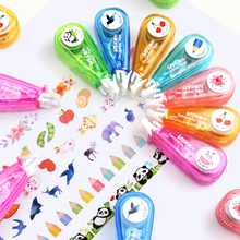 1pcs Lace Press Stationery Tapes Animal Vegetable Flower Decorative Pen Correction Tape Diary Scrapbooking Album Stationery Gift