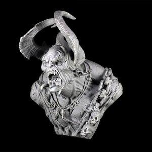 Image 3 - 1/9 Anicent Warrior Met Voeler Buste Resin Figuur Model Kits Miniatuur Gk Unassembly Unpainted