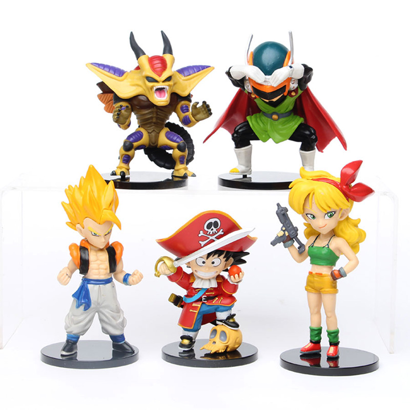 21 unids/lote figura de acción de Dragon Ball Super Saiyan Goku Vegeta freezer vegetto de PVC Anime figura coleccionable modelo de juguete de regalo|Figuras de juguete y acción|   - AliExpress