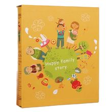 7-Inch Large Capacity Insert Photo Album Scrapbook Creative Photocard Album 5R 200 Photos Family Baby Photo Albums Scrapbooking