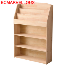 Kids Boekenkast Home Dekorasyon Mobilya Estante Para Livro Shabby Chic Wood Book Retro Furniture Decoration Bookshelf Case