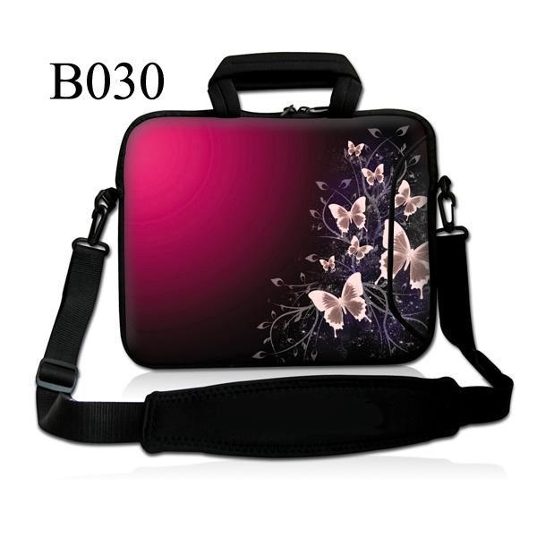 Butterfly 10 Soft Laptop Bag Sleeve Case For Apple iPad 4 3 2 1/ 10.1 Samsung Galaxy Tab/Microsoft Surface RT Windows Pro image