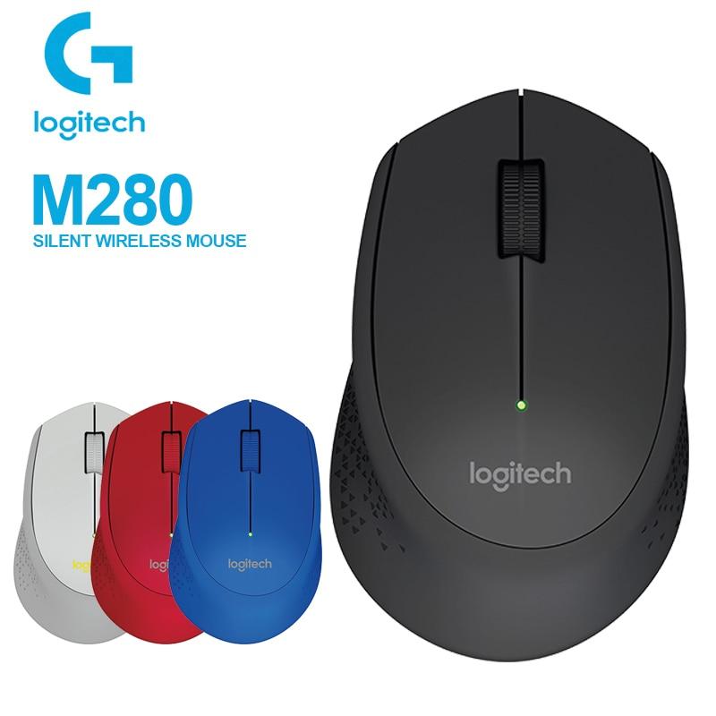 Logitech M280 Wireless Mouse Support Office Test With 2.4GHz USB Nano Receiver 1000dpi For Windows/Mac Reddot Award 2015 Winner
