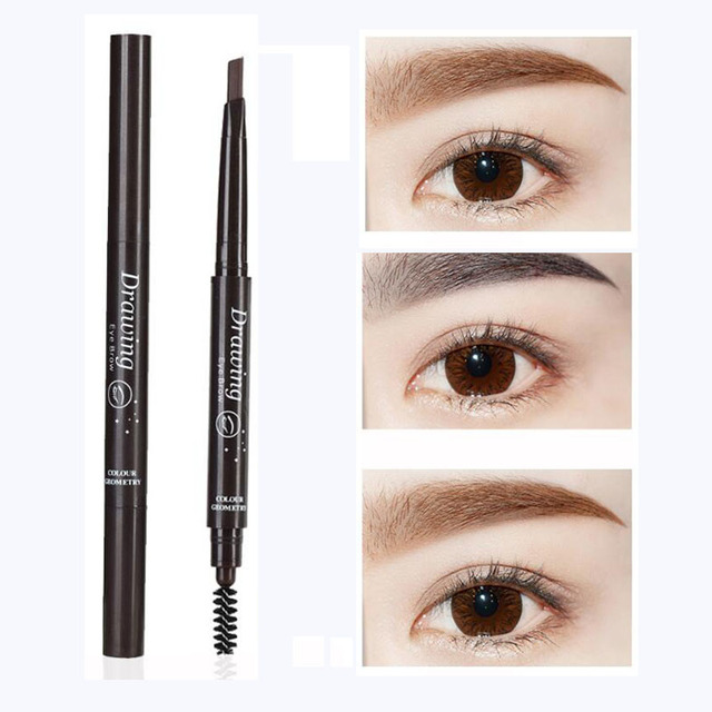 EyeBrow Pencil Cosmetics Makeup Tint Natural Long Lasting Paint Tattoo Eyebrow Waterproof Black Brown Eye brow Makeup Set Beauty 1