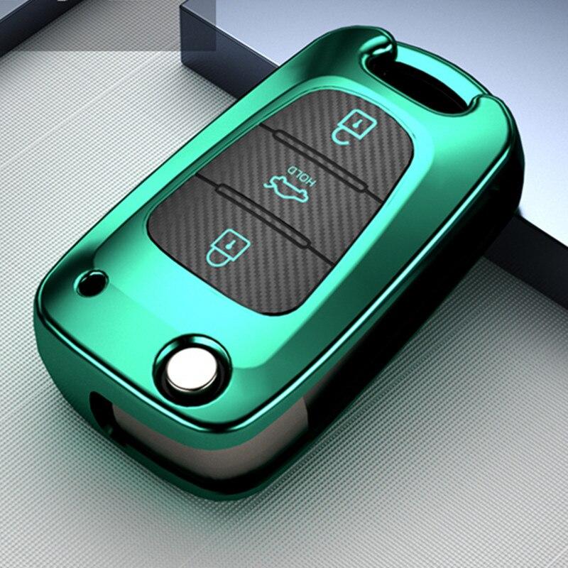 Car key case for kia sportage 2019 rio 3 ceed sorento picanto cerato soul optima  4 2011 niro x line stinger k3 7 5 2 2013 forte