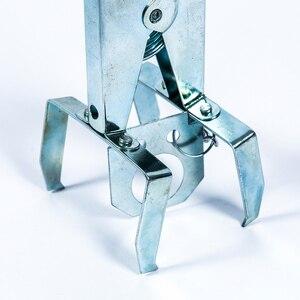 Image 5 - Trampa para topos galvanizada multifunción, Control duradero, fácil instalación, eliminador de tipo tijera, jardín, reutilizable, Color aleatorio