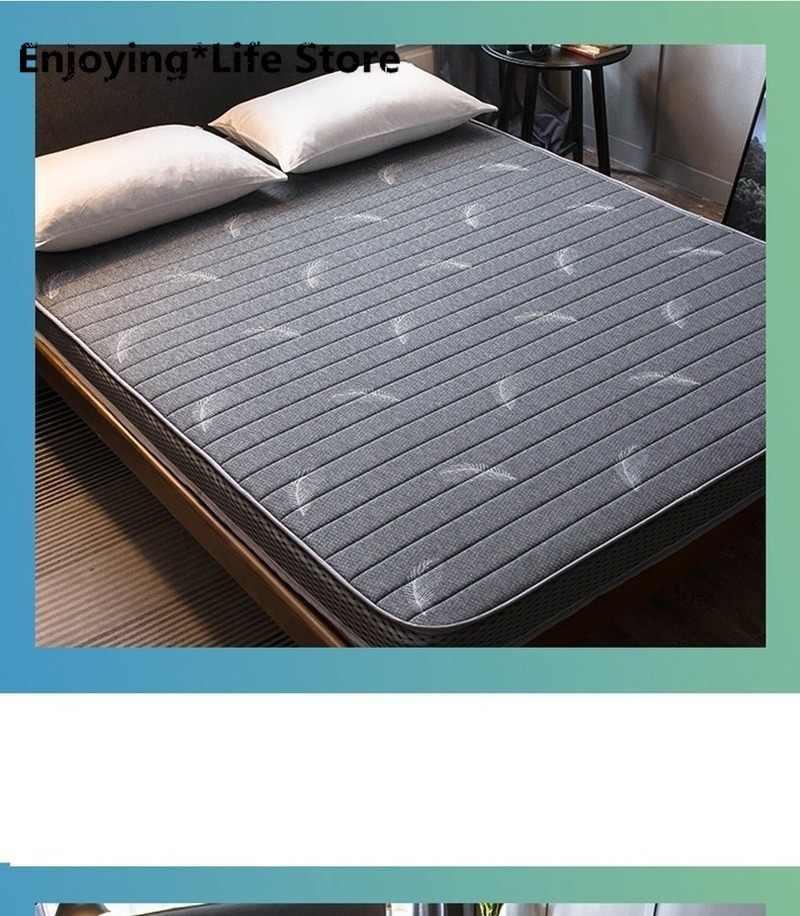 2020 Latex Matratze Klapp Atmen Schaum Tatami Matratze für Königin/König/Twin/In Voller Größe Bett Matratze Schlafzimmer möbel Tatimi