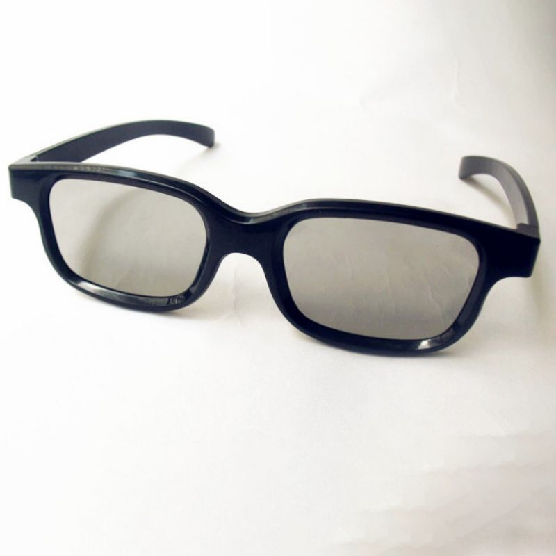 Adult Children Polarized Passive 3d Glasses For 3D Movie TV Real 3D Cinemas Screen Family and Life Polarized Glasses image