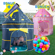 Kid Tipi tent Baby Portable Toy Tent Toddler Play House Children Boy Girl Indoor Outdoor Foldable Castle Baby Teepee Tent Gift