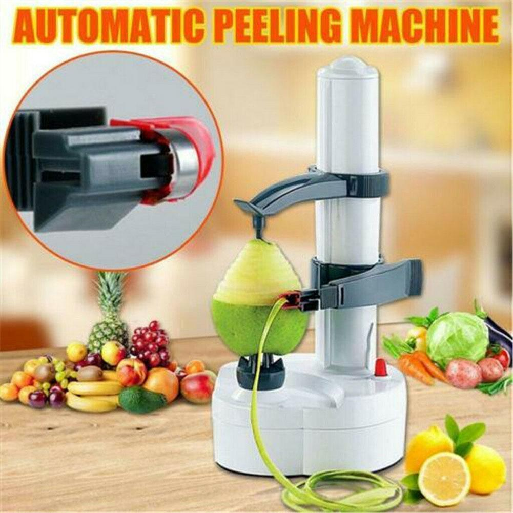 Electric Multifunction Fruit And Vegetable Peeler Potato Tools Gadget Accessories Peeler Machine Automatic Gadgets Kitchen E2F8