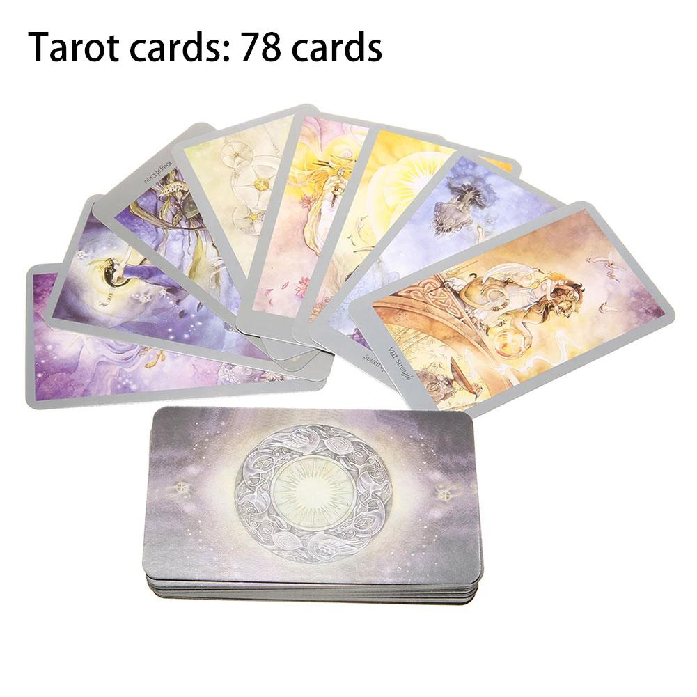 2019 New 78Pcs/Set Full English Version Shadowscapes Tarot Cards Funny Family Board Game Playing Game Cards Party Games