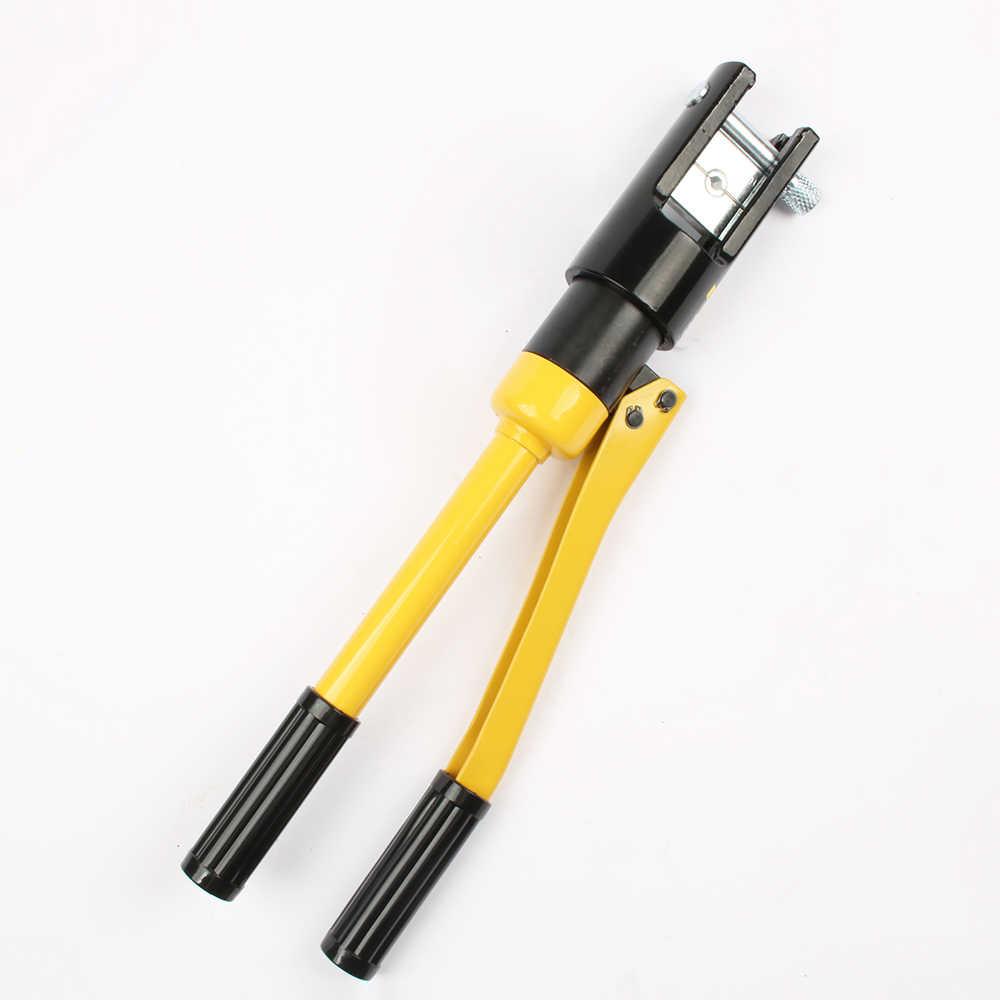 10-300MM crimpen palette Hydraulische crimpen werkzeug 12T druck YQK-300 Hydraulische Kabel Lug Crimpen Werkzeuge, presse Kabel Terminal