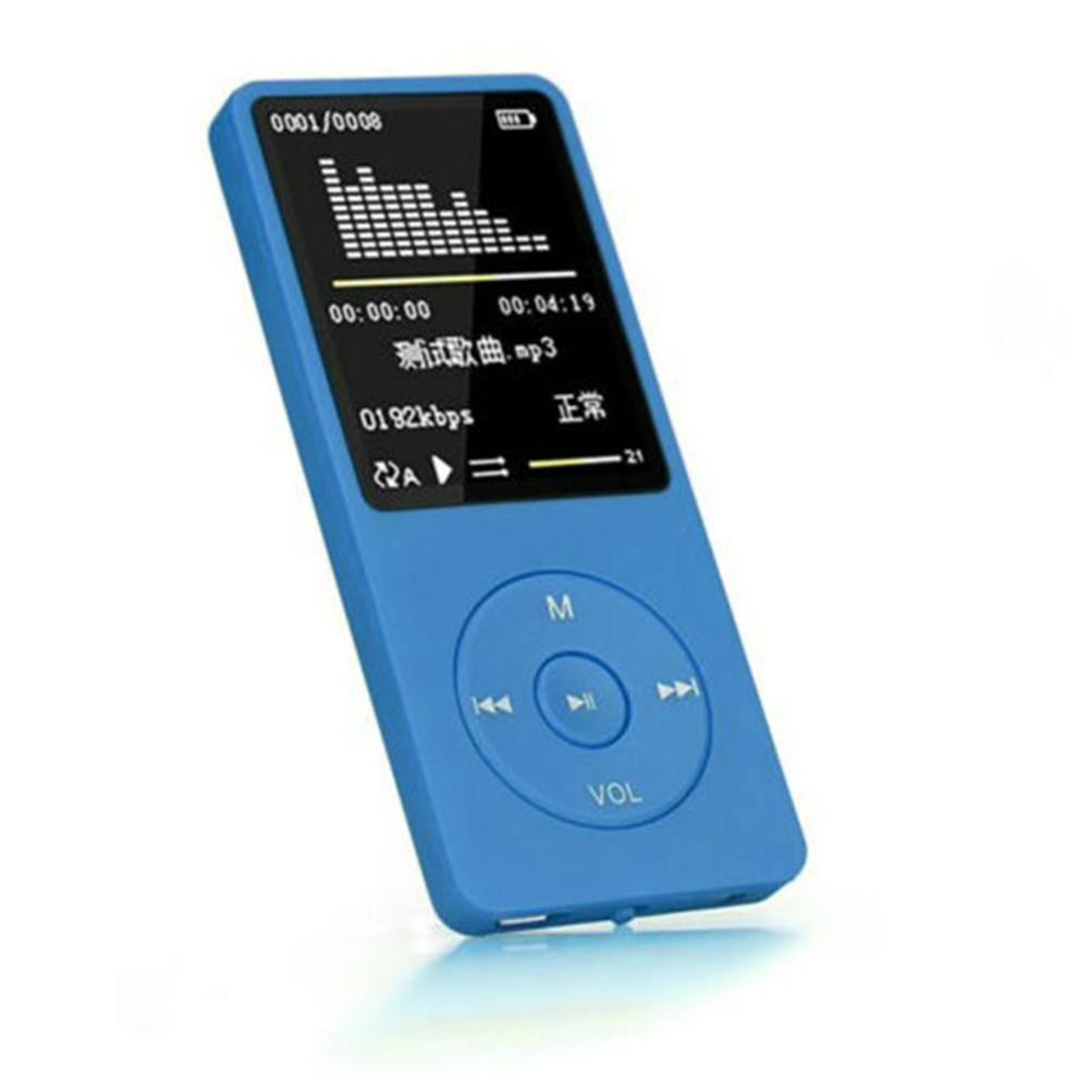 Playback MP3 MP4 Lossless Sound Music Video Player FM Recorder TF Card Up to32GB