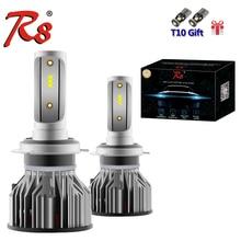 R8 New Design Z6 Series H1 H3 H7 H11 H4 HB34 9005 9006 9012 Auto Car LED Headlight Kits Bulbs 50W 5800LM ZES Chips 6500K White
