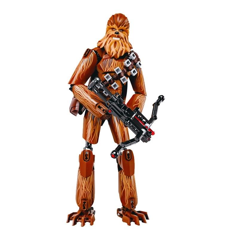 Star Wars Boba Fett Darth Maul Kylo Stormtrooper Phasma Ren Rey Vader Model Assemble Figure Construction Toys For Children 29