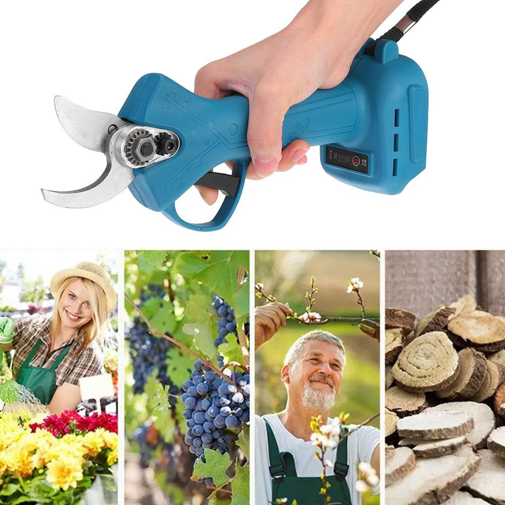 Makita Branches 900W Pruner 18V Tree 18V Cordless Garden Shears Tools 30mm Battery Electric Fruit Cutter For Pruning Pruning