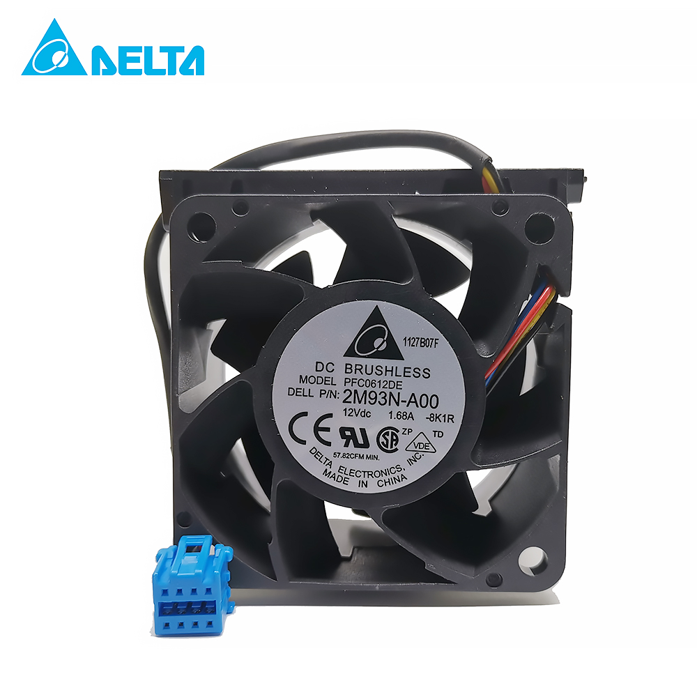 for delta TFB0612GHE 6038 6cm 60mm DC 12V 1.68A server inverter axial industrial case cooling fans