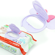 Cartoon Mobile Wipes Wet Paper lid Baby Wipes Lid Baby Wet Wipes Cover Portable Child Wet Tissues Lid Useful Accessories