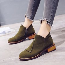 New 2019 Autumn Winter Shoes Women Chelsea Boots Warm Plush For Cold Fashion Womens Ankle Ladies Brand