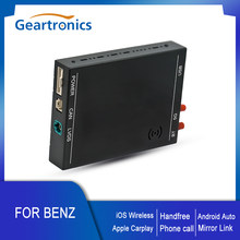 Wireless CarPlay Decoder Box Android Auto For Mercedes-Benz A B C V GLA GLC GLS CLA Class 2015-2018 with NTG 5.0+ System